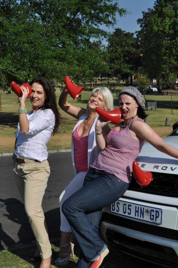 Businesswoman Esther Lamprecht and actresses Anne Power and Dianne Simpson came out in support of Rhinose day